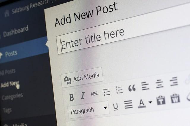 kako napraviti blog u 2021